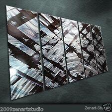 Original Citiscape Metal Wall Art Abstract Special Indoor Outdoor Decor-Zenart