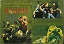 DOMINO avec MICKEY ROURKE / TONY SCOTT ( COLLECTOR 2 DVD - BOITIER METAL )