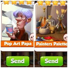 Coin Master Pop Art Papa £ Painters Palette