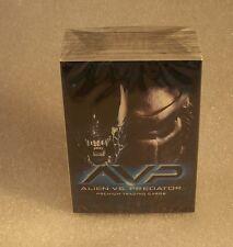 AVP - ALIEN VS. PREDATOR    Complete Trading Card Set