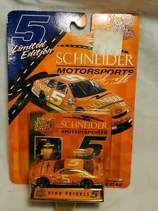 Racing Champions 1/63 1999 NASCAR #5 Dick Trickle Schneider Racing NOS