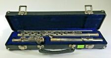 VTG Armstrong Model 103 Flute Silver Plate Open Hole Student 80's Musical DS31