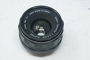 Super-Multi-Coated Takumar 35mm f/3.5 M42 Screw Mount Lens
