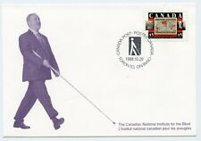 Weeda Canada S33 VF commemorative Special Event Cover 1998 Blind issue CV $3