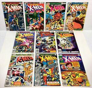 X-MEN #114,115,116,117,118,119,120,121,122,123 KEYS! (10-Issue RUN!) 1978 Marvel