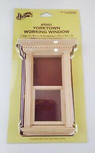 Dollhouse Miniature Window Yorktown Working 1:12 Scale Houseworks #5001