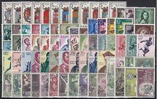 España Año Completo 1962 Nuevo sin Charnela MNH Lujo