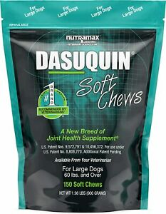 Dasuquin Soft Chews for Large Dogs - 150 Count - FAST FREE SHIPPING