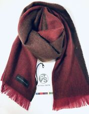 Paul Smith Men Scarf Made In England Flag Stripe Red