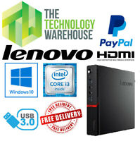 Lenovo Thinkcentre M900 PC - Micro PC with 6th Gen CPU Fast SSD & Windows 10