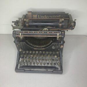 Early 1900's Vintage UNDERWOOD Typewriter
