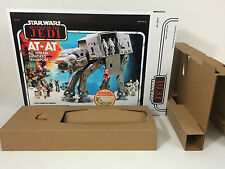 brand new prototype star wars revenge of the jedi at-at box + inserts