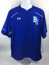 Under Armour Loose Br Mens L Blue Protect This House 1/4 Zip Vent Ss Polo Shirt