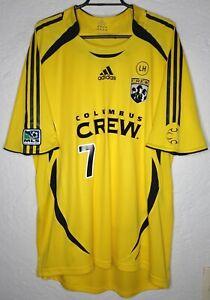 MLS Columbus Crew Adidas 2007 Barros Schelotto Formotion Home Soccer Jersey
