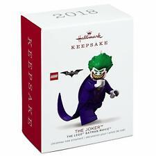 Hallmark, 2018, Keepsake, Ornament, The Joker, The Lego Batman Movie, New!