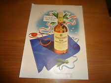 """1944 Seagram's V.O. Whiskey Vintage Magazine Ad """"For a Man Who Plans Beyond..."""""""