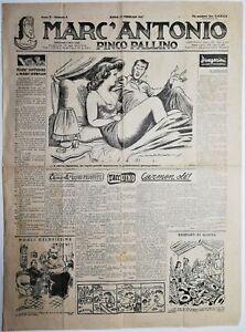 Marcantonio Settimanale umoristico illustrato-2 numeri anno II n° 8 - 5-1947
