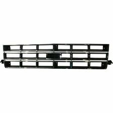 New Grille Chrome Shell/Painted Black Insert Fits Chevrolet S10 1982-1990