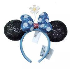 Minnie Mouse Headband Glitter Bows Headband Plush Adult Kids Disney Princess
