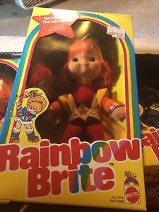 1983 MATTEL 7234 RED BUTLER & ROMEO SPRITE RAINBOW BRITE DOLL NEW IN BOX NIB mib
