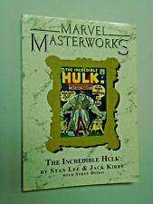 Marvel Masterworks Incredible Hulk #8 - corner shelf wear