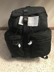 Michael Kors NWT MSRP $248.00  Sport Zip Backpack Black Nylon new with tag