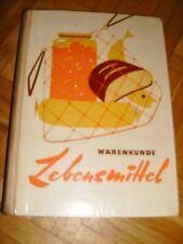 DDR Buch Warenkunde Lebensmittel