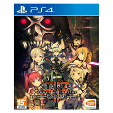 New SWORD ART ONLINE FATAL BULLET PlayStation PS4 2018 (Chinese Ver.)