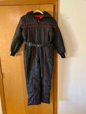 Maxim Wear Yamaha One Piece Full Body Riding Suit Black/Red Kids Large