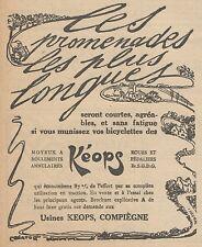 Z8296 Moyeux KEOPS - Pubblicità d'epoca - 1914 Old advertising