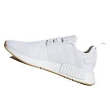 ADIDAS MENS Shoes NMD_R1 - Cloud White & Crystal White - D96635