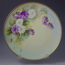 ANTIQUE VIENNA HAND PAINTED CABINET PLATE, ARTIST SIGNED