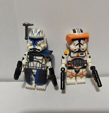Star Wars The Clone Wars Captain Rex And Commander Cody Minifigures Lot