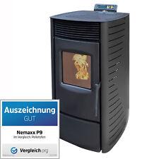 Poêle à granulés 9 kW insert à pellets de bois cheminée chauffage économique