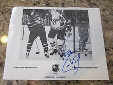 VINTAGE CAM NEELY AUTOGRAPH / SIGNED 8x10 PHOTO NHL HOCKEY BOSTON BRUINS