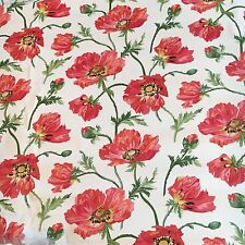 Motif Vintage Wallpaper Floral Red Pink Flowers Vines LAST 4!