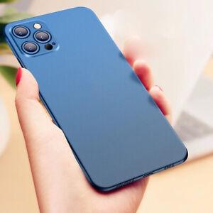 ULTRA DÜNN Schutzhülle Case Handy Hülle für iPhone 13 Pro Max 12 11 Xs XR X 7 8
