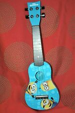 "First Act 20"" Minion Child's Blue Guitar Good Condition Ukulele"