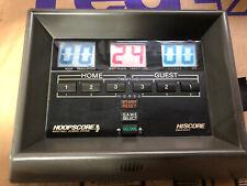 "Jaguar Hoopscore Basketball Electronic Score Board Game System 8.5""x11"" Vintage"