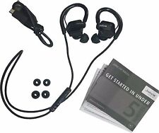 Jabra STEP Black Ear-Hook Headset Wireless Bluetooth Stereo Music Sport Earbuds