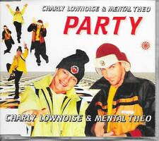 CHARLY LOWNOISE & MENTAL THEO - Party CDM 6TR Happy Hardcore 1997 (Polydor)