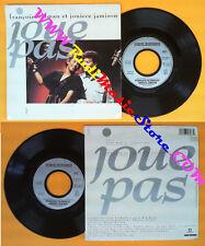 LP 45 7'' FRANCOIS FELDMAN et JONICE JAMISON Joue pas 1989 no cd mc dvd vhs