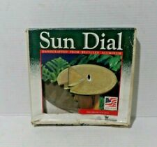 Vtg Whitehall Products Sailboat Sundial in box