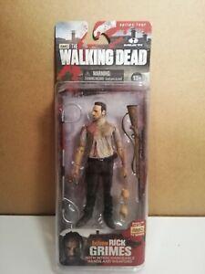 The WALKING DEAD Action figure Series 4 TV Rick Grimes McFarlane Toys