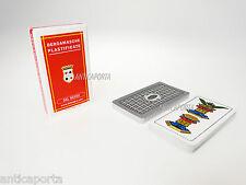 Dal Negro 10050 - Bergamasche carte da Gioco regionali Astuccio Rosso