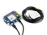 SIM7600E-H 4G Module HAT for Raspberry Pi Supports 3G/2G/GSM/GPRS/GNSS LTE CAT4