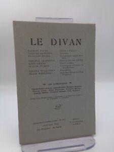 Revue LE DIVAN n°282 Stendhal Léautaud Antilles Klingsor Martineau ...
