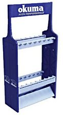 Okuma Rr-B1 Blue & Silver Rod Rack - Fishing