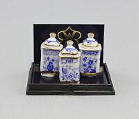 """9911056 Reutter Puppenstuben-Miniatur """"Küchendosen 3 Stück"""""""