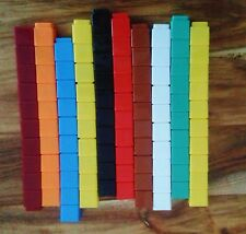 Unifix Blocks: connecting cubes 10 x 10 = 100 Learning Resource